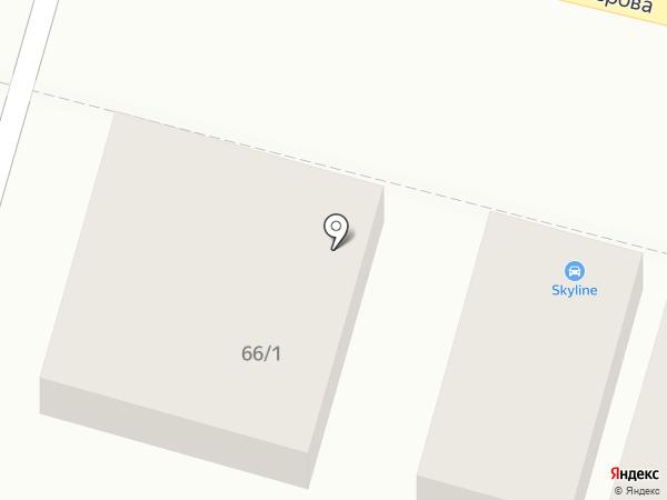 Шиномонтажная мастерская на ул. Некрасова на карте Энгельса