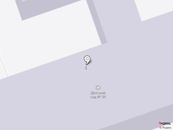 Детский сад №55 на карте Энгельса