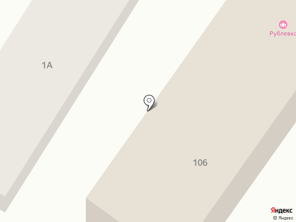 Рублёвка на карте Энгельса
