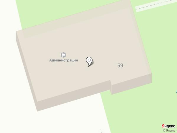 Администрация Новопушкинского муниципального образования на карте Пробуждения