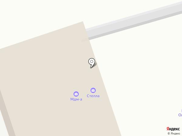 Стелла на карте Энгельса