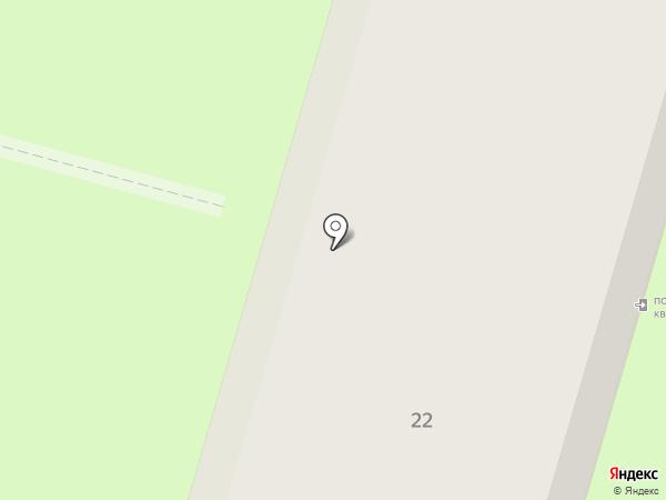 Лётный на карте Энгельса