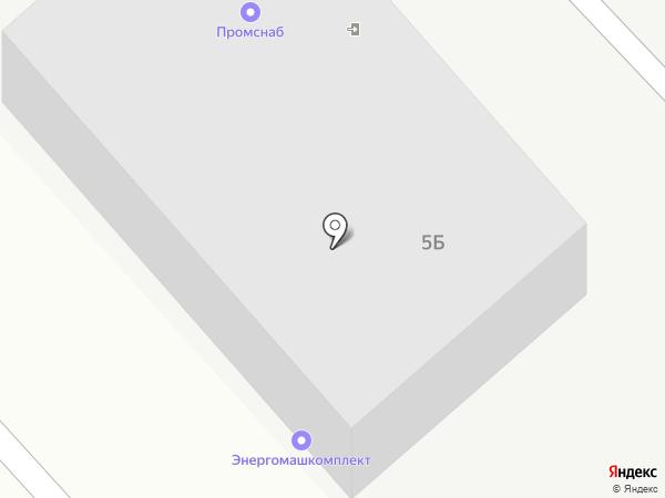 Энергомашкомплект, ЗАО на карте Энгельса