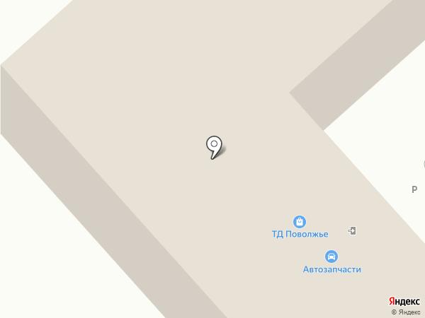 Энви на карте Энгельса