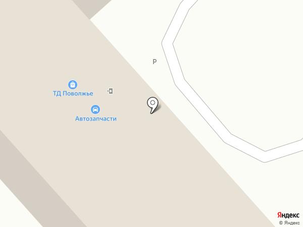 Автополка на карте Энгельса