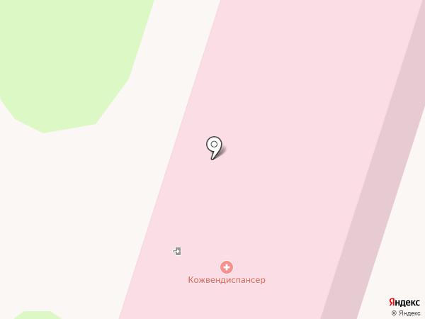 Саратовский областной кожно-венерологический диспансер на карте Энгельса