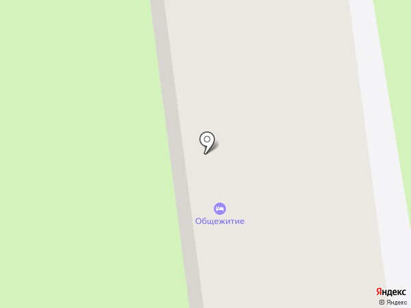 Общежитие на карте Энгельса