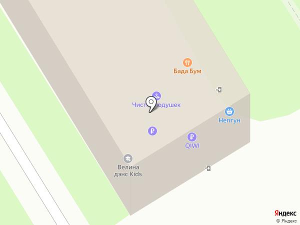 Есения на карте Энгельса