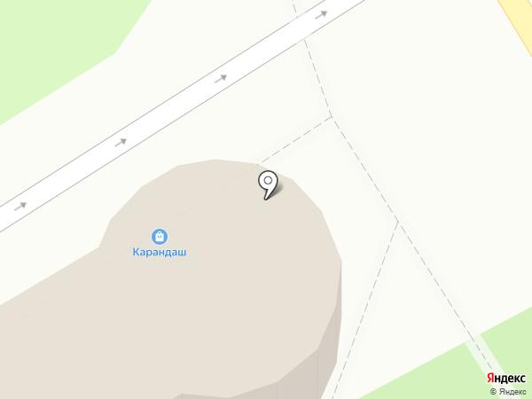Зоомир на карте Энгельса