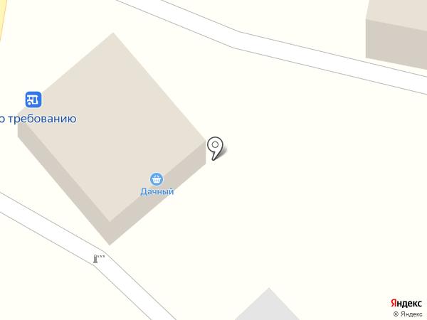 Дачный на карте Новогусельского