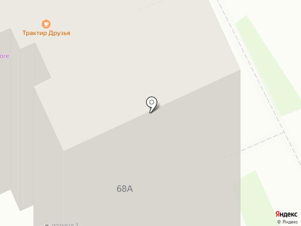 MaxAuto на карте Энгельса
