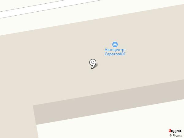 АвтоцентрГАЗ-Лидер на карте Энгельса