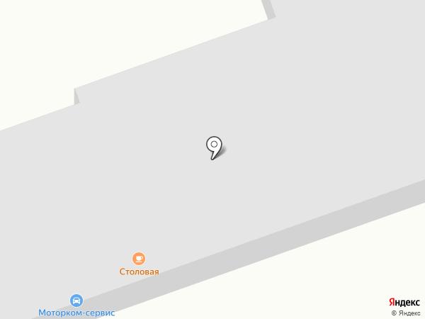Автостоянка на карте Прибрежного