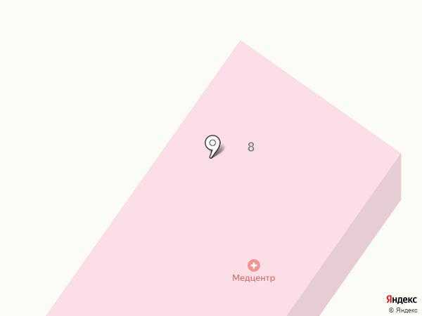 Красноярская амбулатория на карте Красного Яра