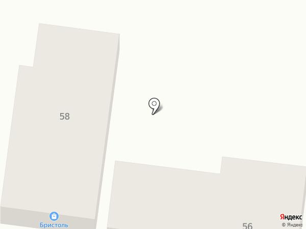 Бристоль на карте Красного Яра