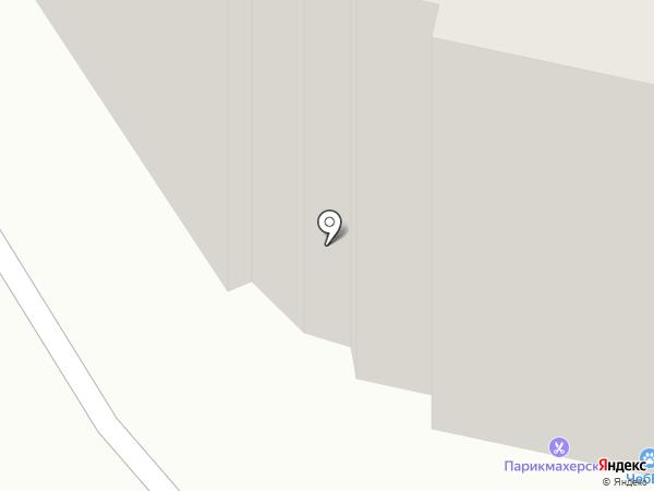 Уютный на карте Чебоксар