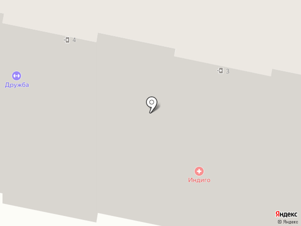 Магазин текстиля и постельных принадлежностей на карте Чебоксар