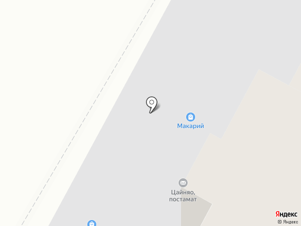 Макарий на карте Чебоксар