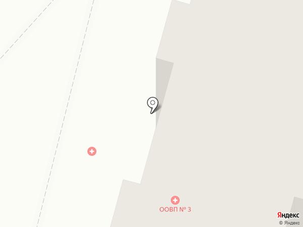 Больница скорой медицинской помощи на карте Чебоксар