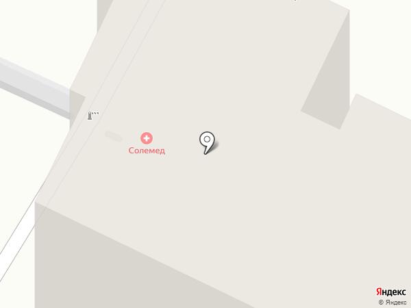 Солемед на карте Чебоксар