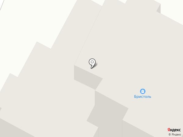 Бристоль на карте Чебоксар