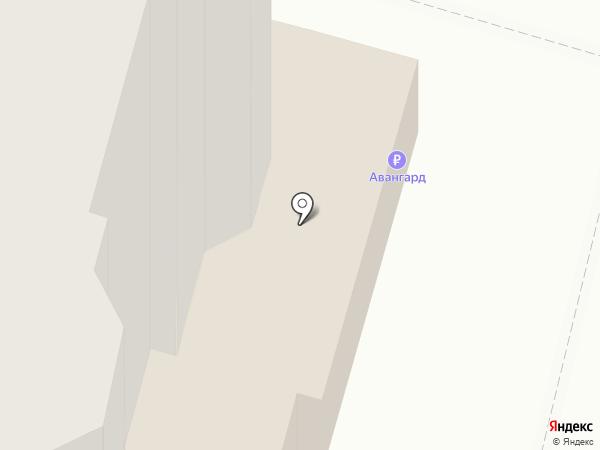 Трикотажница на карте Чебоксар