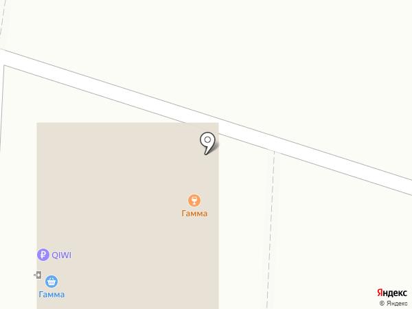 Гамма на карте Чебоксар