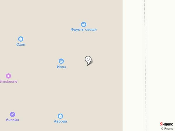 Коржик на карте Чебоксар