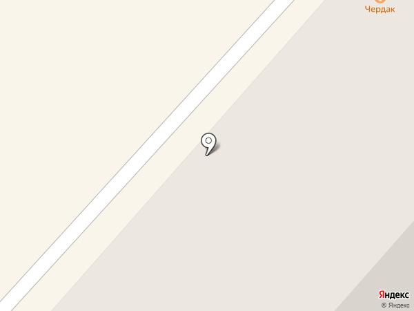 Чердак на карте Чебоксар