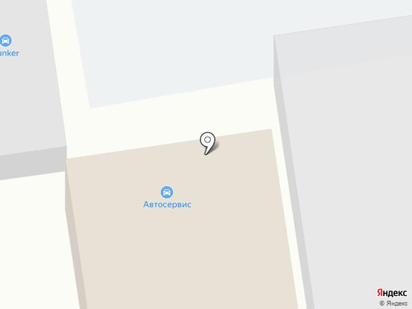 Бизон на карте Чебоксар