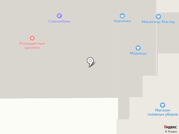 Элис на карте Чебоксар