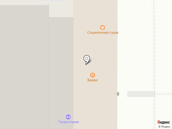 Брависсимо на карте Чебоксар