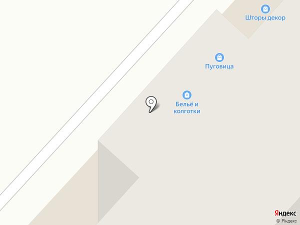 Пуговица на карте Чебоксар