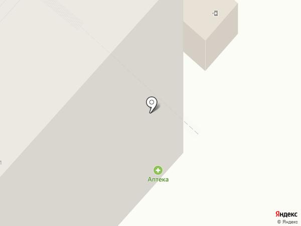 Калина на карте Чебоксар