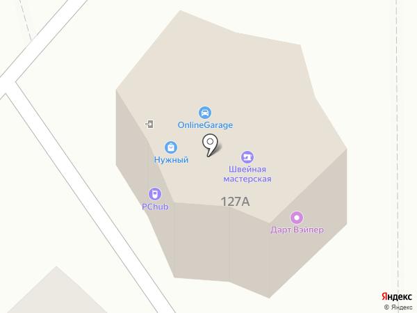 Мастерская по ремонту одежды на карте Чебоксар
