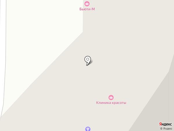 Центр паровых коктейлей на карте Чебоксар