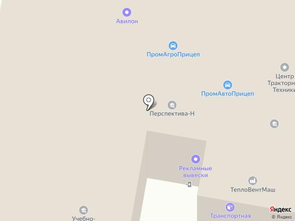 Вест на карте Чебоксар