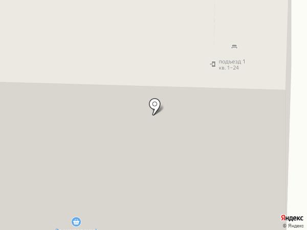 Звениговский на карте Чебоксар