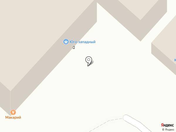 Магазин рыболовных товаров на карте Чебоксар
