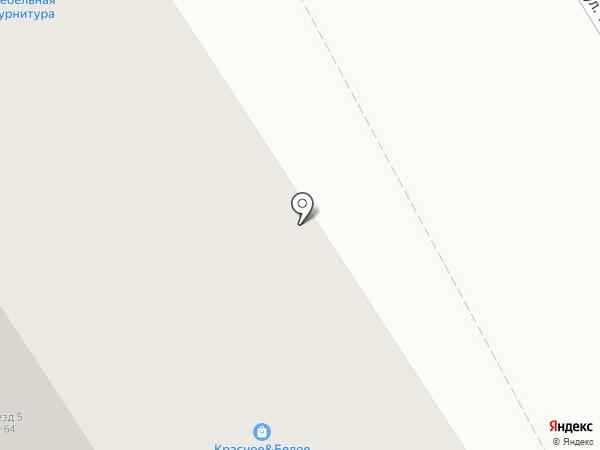 Салон-магазин мебельной фурнитуры на карте Чебоксар