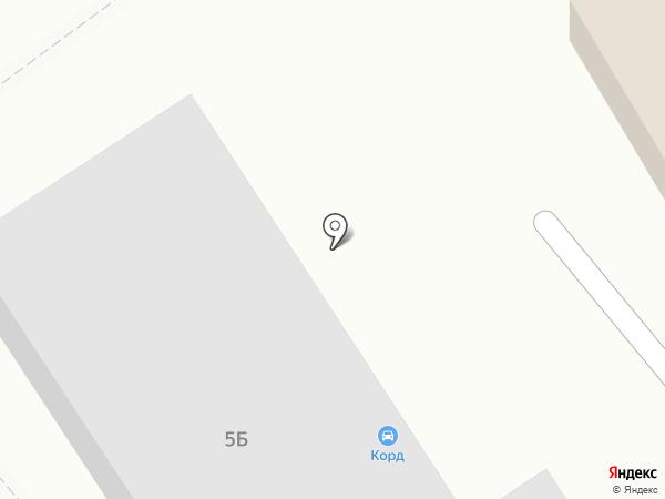 Корд на карте Чебоксар