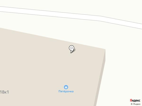 Луч на карте Чебоксар