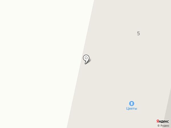 Садок на карте Чебоксар