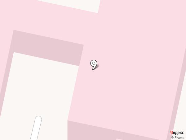 Поликлиника поселка Новые Лапсары на карте Чебоксар