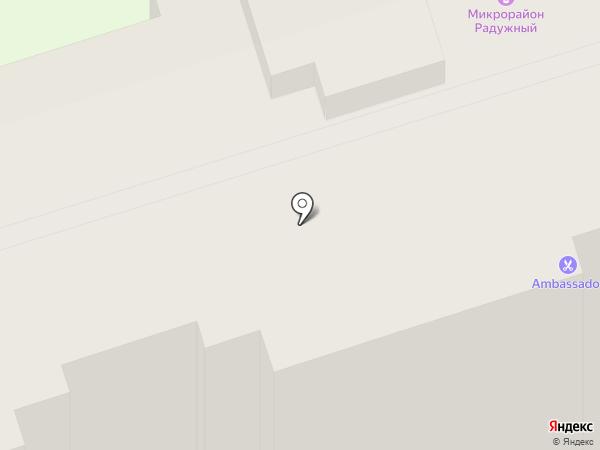 Радужная на карте Чебоксар