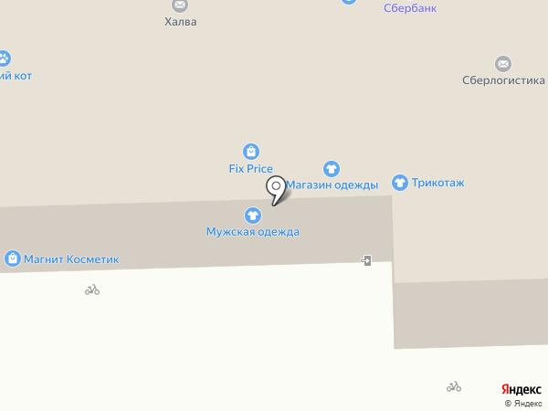 Магнит на карте Чебоксар