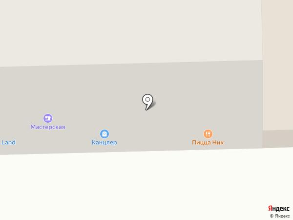 Киоск фастфудной продукции на карте Чебоксар