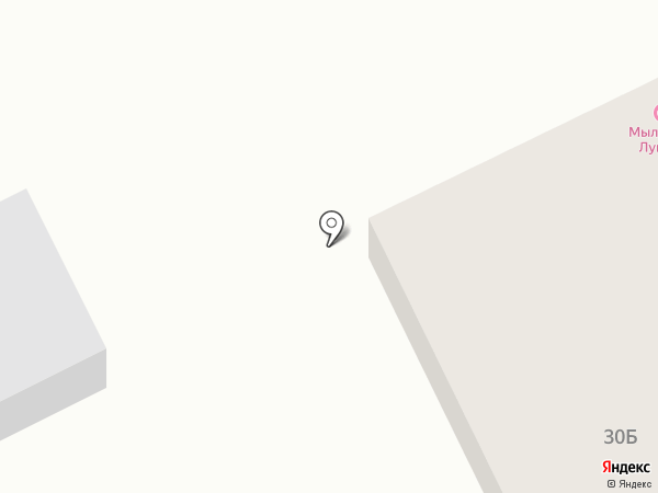 Мыльня на Лунной на карте Чебоксар