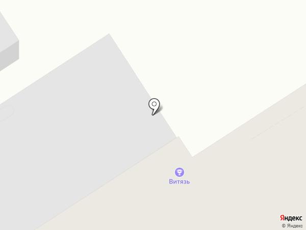 Витязь на карте Чебоксар