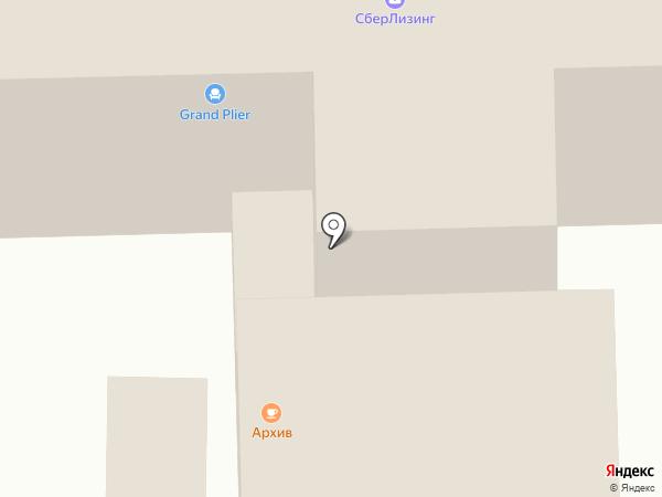 Архив на карте Чебоксар